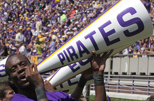 Pirate Football: Virginia Tech vs. ECU