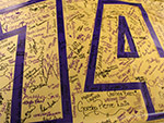 Class of 2014 Banner Signing