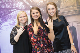 ECU Official Ring Ceremony